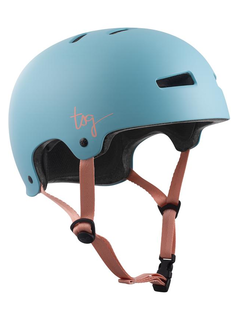 TSG Evolution Women Skate/BMX Helmet satin porcelain blue