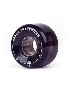 Arbor Shakedown wheels 58mm 80a ghost black