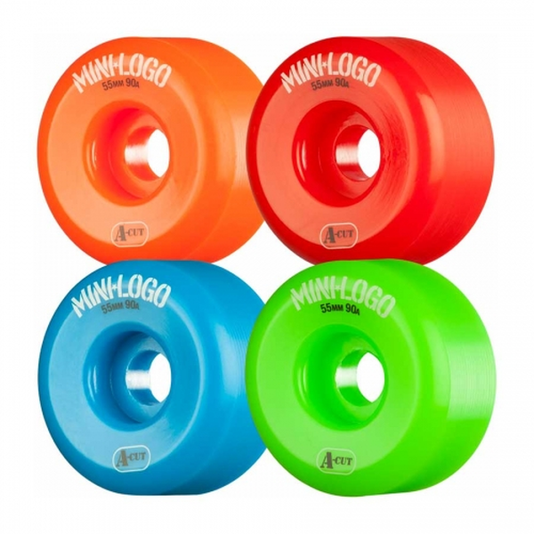 Mini Logo Wheels A-Cut 53mm 90a mixed