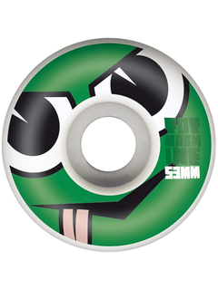 Toy Machine Angry Turtle Face Wheels 53mm 100a