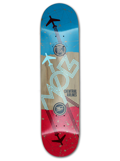 Mob Skateboards Airlines Deck 8