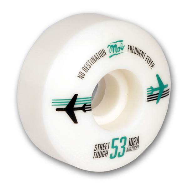 Mob Skateboards Fly Wheels 53mm 102a