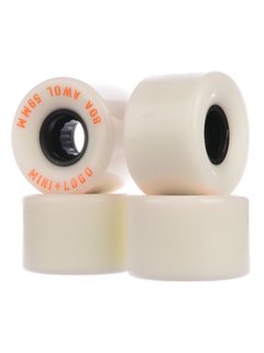 Mini Logo Wheels A.W.O.L. A-Cut II 59mm 80A white