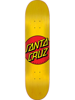 Santa Cruz Classic dot FA20 Deck yellow 7.75