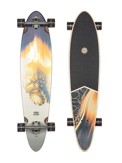 Globe Pinner classic Gold Vein Longboard complete 40