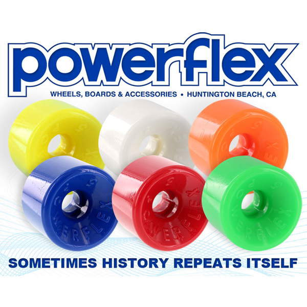 Powerflex wheels 63mm 88a
