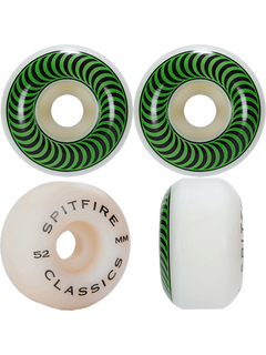 Spitfire Classic Wheels Green 52mm 99a