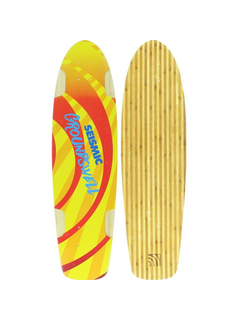 Seismic Groundswell Longboard deck 34.5