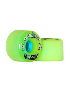 Cloud Ride lime slusheez Wheels 62mm 78a