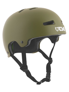 TSG Evolution Skate/BMX Helm satin olive