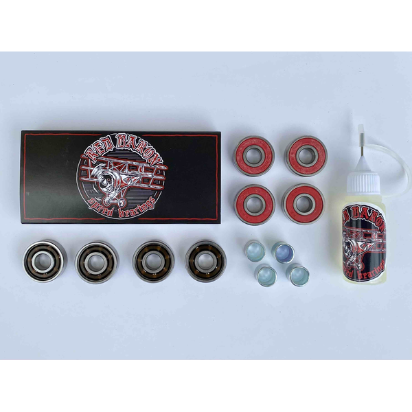 Red Baron speed bearings + oil