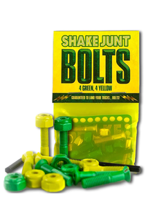 Shake Junt Bag OBolts 4 Green 4 Yellow 1 Phillips