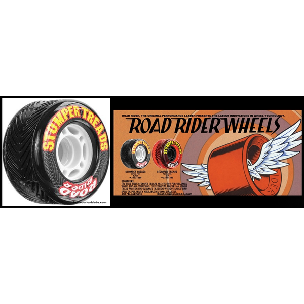 Road Rider Stomper Treads all weather wheels 70mm 83a