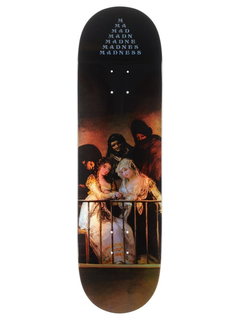 MADNESS Skateboards Creeper holographic popsicle R7 deck...