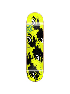 MADNESS Skateboards Side eye neon yellow R7 deck 8.5