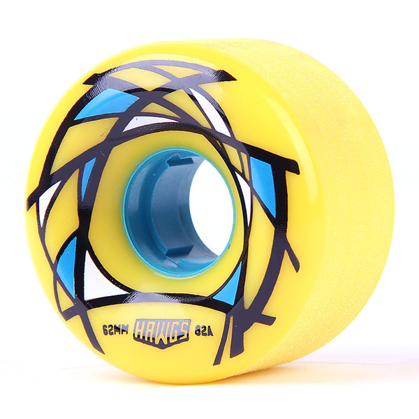 Hawgs Venables Wheels 62mm 82a Yellow