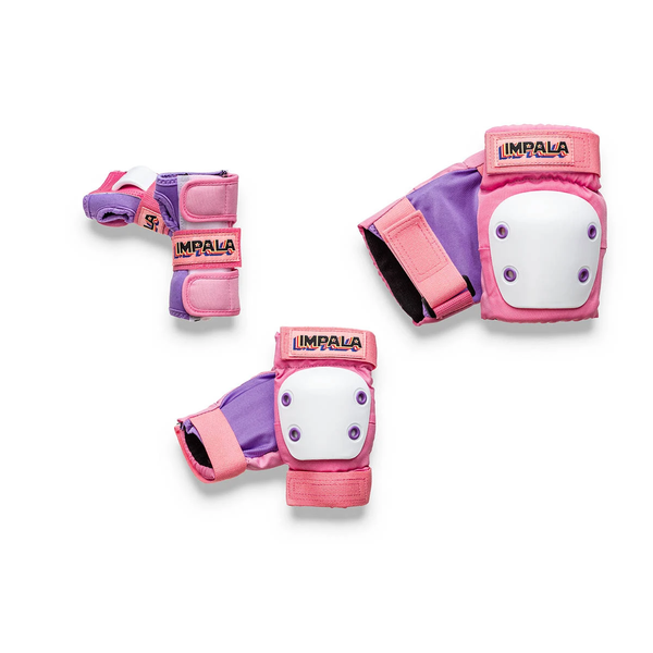 Impala Skateboards Protective Set Youth Pink YM