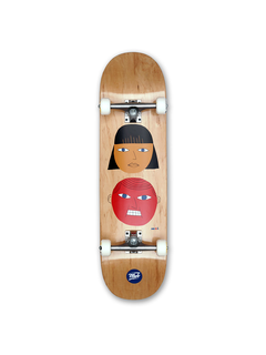 Mob Skateboards Two Heads Skateboard complete 8.5