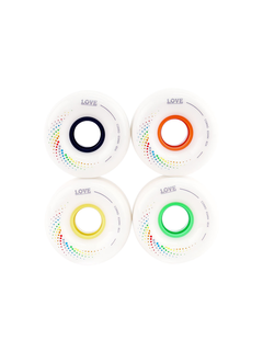 1Love Corro White Wheels 65mm 80a