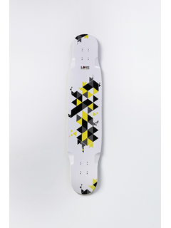 1Love Tapete Deck 44 Lemon Black