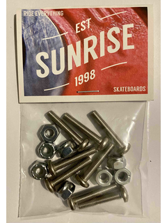 Sunrise Hardware Panhead 1.5 phillips silver