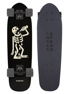 Landyachtz Dinghy Komplett Minicruiser Skeleton Black