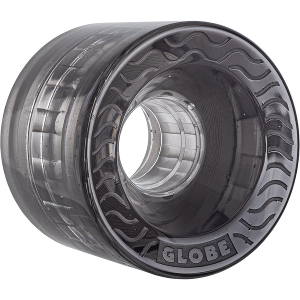 Globe Retro Flex Cruiser Wheels Clear Black 58mm 83a