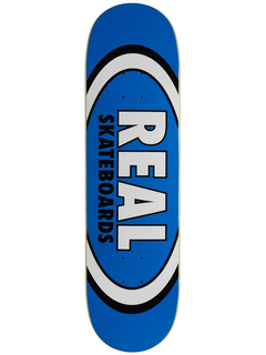Real Skateboards Classic Oval Blue deck 8.5