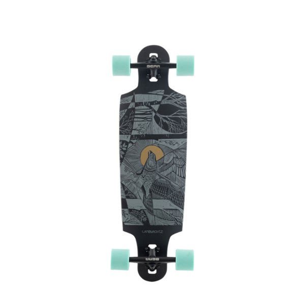 Landyachtz Drop Cat Seeker Black 33 Komplett Longboard