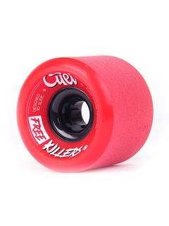 Cuei Free Killers Wheels 73mm 80a red