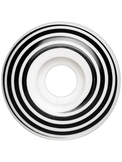 Hazard Wheels Swirl CP+: Radial White Wheels 60mm 101a