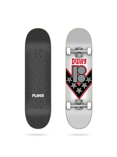 Plan B Danny Way One Offs Complete Skateboard 8.125