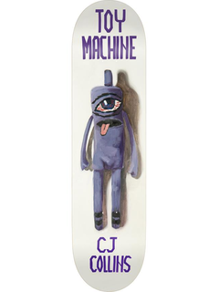 Toy Machine Doll Series Collins Deck 7.75