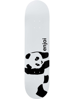 Enjoi Skateboards Panda white Deck 8.25