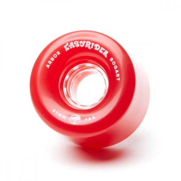 Arbor Outlook Wheels 69mm 78a vintage red