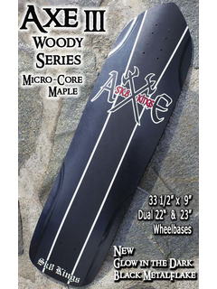 Sk8kings - Axe Woody Maple Series - Axe III Slalom Deck -...