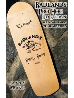 BADLANDS SKATEBOARDS - hand-signed and numbered -...