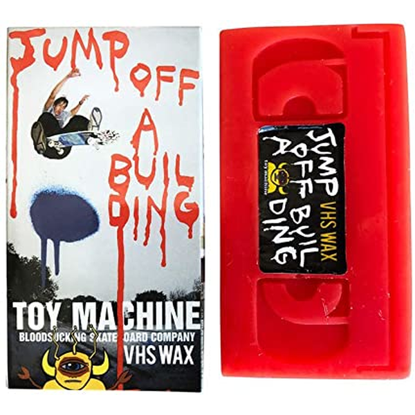 Toy Machine Wax V.H.S Jump of a Building